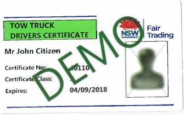 Fair Trading Licence Check >> Vehicle towing | Fair Trading NSW