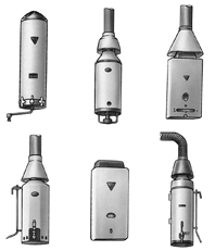 Examples of flued water heaters